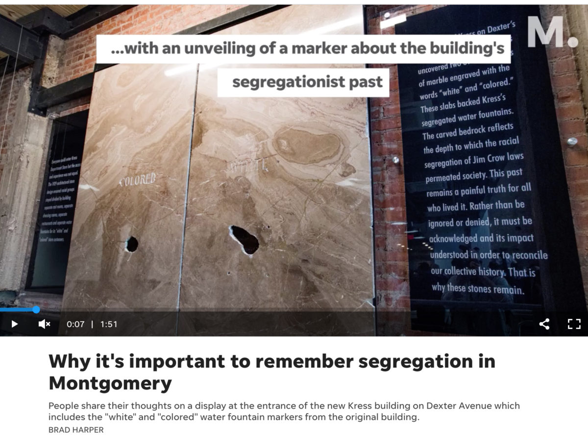 """Why it's important to remember segregation in Montgomery"""