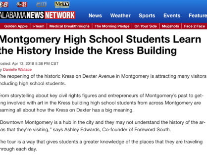 """Students Learn the History Inside the Kress Building"""