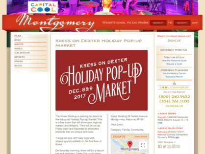 """Kress is opening its doors for the Holiday Pop-up Market!"""