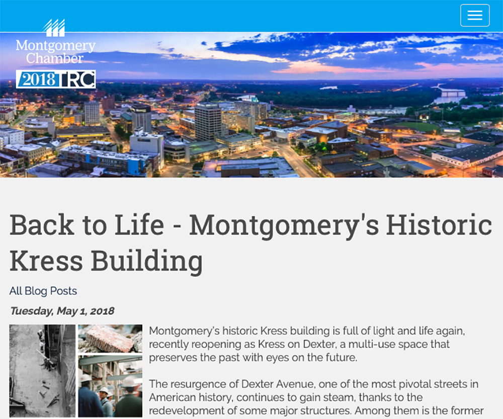 """Montgomery's historic Kress building is full of light and life again"""