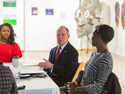 Michael Bloomberg visits Montgomery on Monday